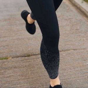 ZYIA Light N Luxe Pocket Reflective Hi-Rise Tights
